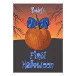 1ras invitaciones del fiesta de Halloween de los b Comunicados Personalizados