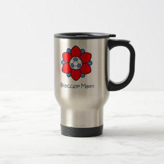 1Red Soccer Mom Travel Mug
