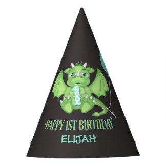 1ros gorras del fiesta del papel del cumpleaños gorro de fiesta