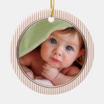 1ros ornamentos del navidad del bebé ornamento para arbol de navidad