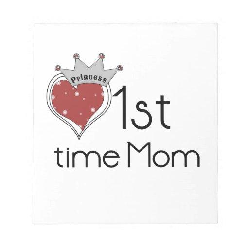 1ros regalos de la mamá del tiempo de princesa Hea Blocs De Papel