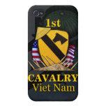 1ros veteranos de Vietnam de la división de la cab iPhone 4 Protectores