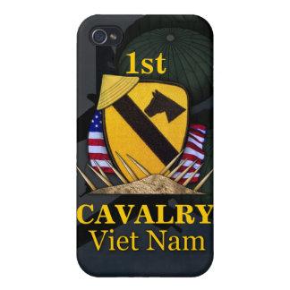 1ros veteranos de Vietnam de la división de la cab iPhone 4/4S Fundas