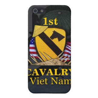 1ros veteranos de Vietnam de la división de la iPhone 5 Carcasas