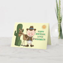 1st 2nd 3rd Birthday Toddler Boys Card
