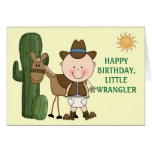 1st 2nd 3rd Birthday Toddler Boys Greeting Card