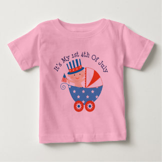 1st 4th of July (Baby) T Shirt