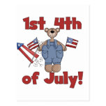 1st 4th of July Tshirts and Gifts Postcard
