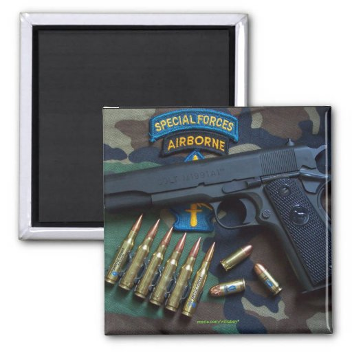 1st 5th green berets iraq special forces Magnet