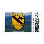 1st 7th cavalry air cav vietnam nam war vets stamp