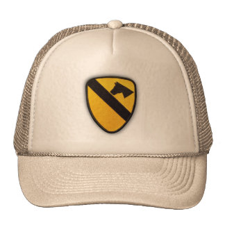 1st 7th cavalry division air cav vets patch trucker hat