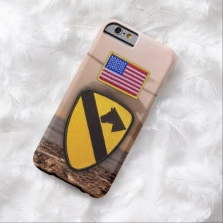1st 7th cavarly air cav fort hood veterans vets barely there iPhone 6 case