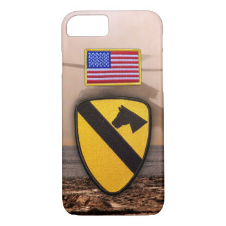 1st 7th cavarly air cav fort hood veterans vets iPhone 8/7 case