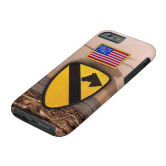 1st 7th cavarly air cav fort hood veterans vets tough iPhone 6 case