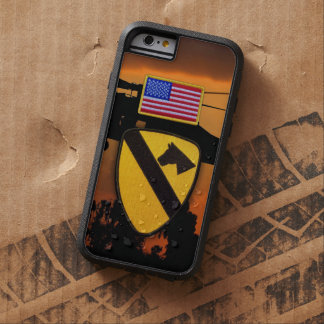 1st 7th cavarly air cav fort hood veterans vets tough xtreme iPhone 6 case