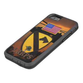 1st 7th cavarly air cav LRRPS veterans vets Tough Xtreme iPhone 6 Case