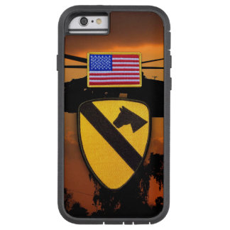 1st 7th cavarly CD air cav fort hood veterans vets Tough Xtreme iPhone 6 Case