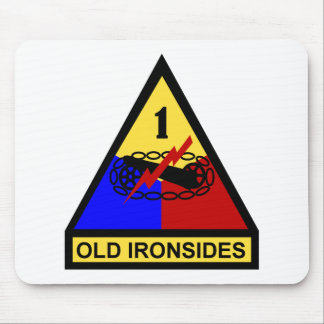 1st AD Old Ironsides Patch Mouse Pad