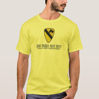 1st Air Cavalry: Jihad Works Both Ways T-Shirt