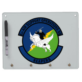 1st Air Support Operations Squadron - Reapers Dry-Erase Whiteboard