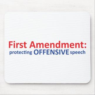 1st Amendment: protecting offensive speech Mousepads