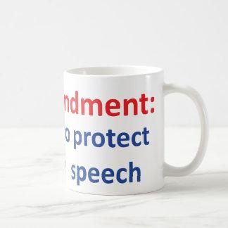 1st Amendment: protecting offensive speech Mugs