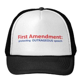 1st Amendment: protecting speech. Trucker Hats