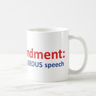 1st Amendment: protecting speech. Mugs
