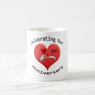 1st. Anniversary Coffee Mug