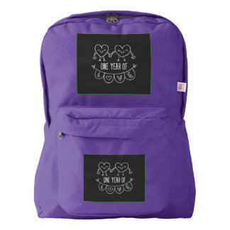 1st Anniversary Gift American Apparel™ Backpack