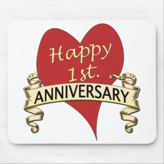1st. Anniversary Mouse Pad
