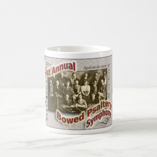 1st Annual Bowed Psaltery Symphony - Coffee Mug