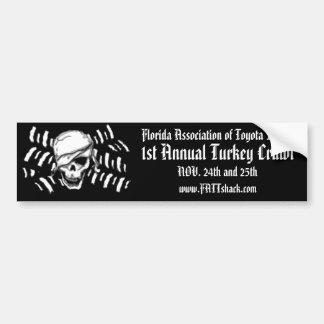 1st Annual Turkey Crawl Bumper Sticker