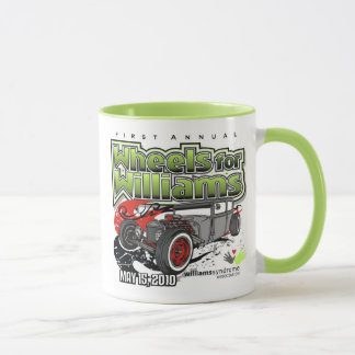 1st Annual Wheels for Williams Mug