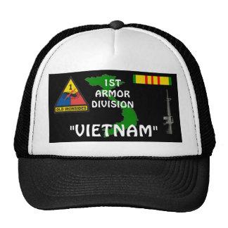 1st Armor Division Vietnam Veteran Ball Caps Trucker Hat