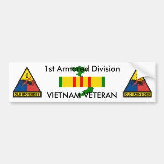 1st Armored Div bumper sticker