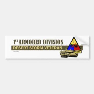 1st Armored Division [1st AD] Car Bumper Sticker