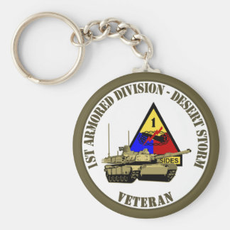 1st Armored Division [1st AD] Keychain