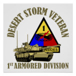 1st Armored Division [1st AD] Poster