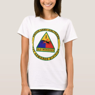 1st Armored Division Girlfriend T-Shirt