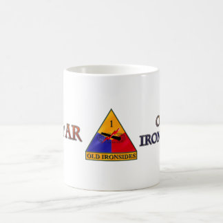 1st Armored Division Ironsides Coffee Mug