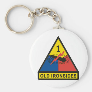1st Armored Division Keychain