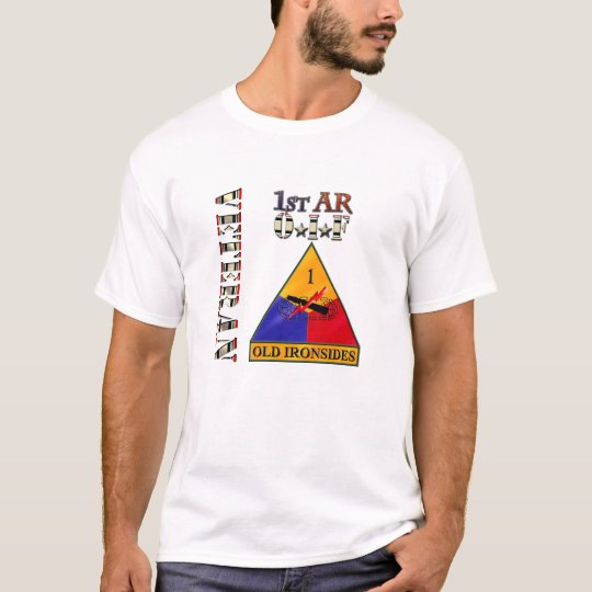 1st Armored Division OIF Veteran T-Shirt
