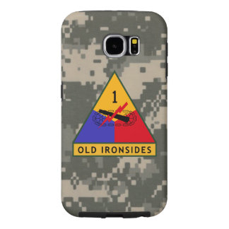 """1st Armored Division """"Old Ironsides"""" Digital Camo Samsung Galaxy S6 Case"""
