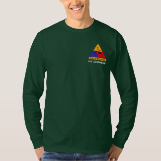 """1st Armored Division """"Old Ironsides"""" Long Sleeve T-Shirt"""
