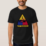 1st Armored Division - OLD IRONSIDES T-Shirt