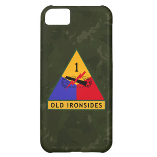 "1st Armored Division ""Old Ironsides"" ""WW II Camo"" iPhone 5C Case"