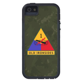 "1st Armored Division ""Old Ironsides"" ""WW II Camo"" Case For iPhone 5"