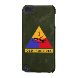 "1st Armored Division ""Old Ironsides"" WW II Camo iPod Touch (5th Generation) Case"