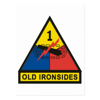 1st Armored Division Post Cards